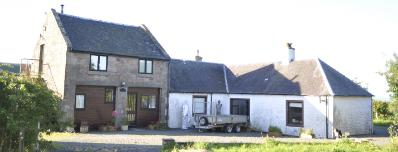 granary cottage accommodation at high mcgowanston farm ayrshire on the bronze casting and art courses